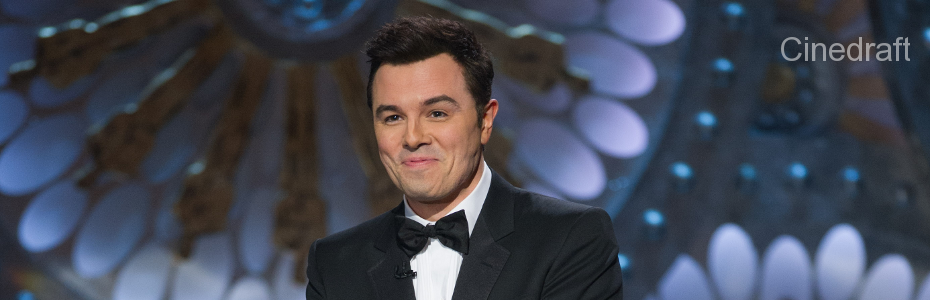 Seth MacFarlane hosting the Academy Awards