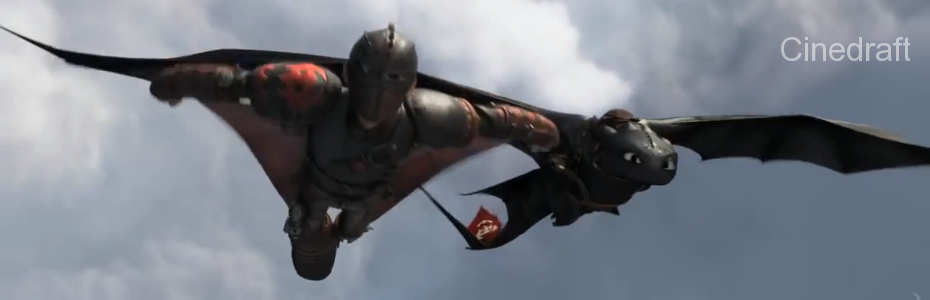 How To Train Your Dragon 2 on Cinedraft.com